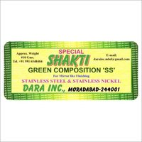 Stainless Steel Green Polishing Composition