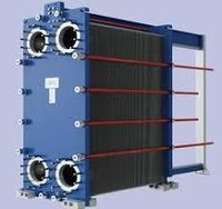 Gasket-ted plate heat exchanger