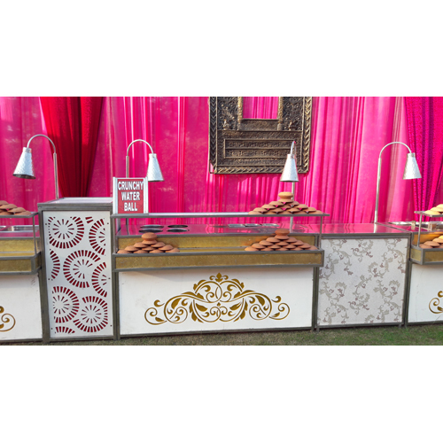 Stainless Steel Service Stall