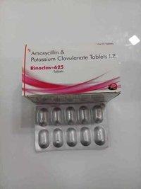 AMOXICILLIN & POTASSIUM CLAVULANATE