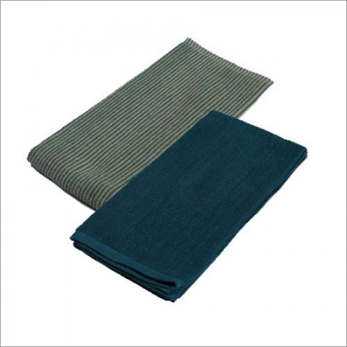 Kitchen Towel (Green & Blue) - 2 Pcs