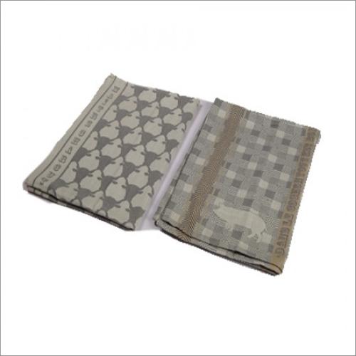 Lunch & Kitchen Towel (Grey) - 2 Pcs