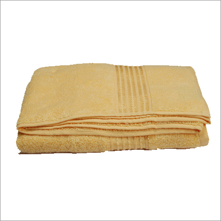 Classic Bath Towel-Lemon Yellow