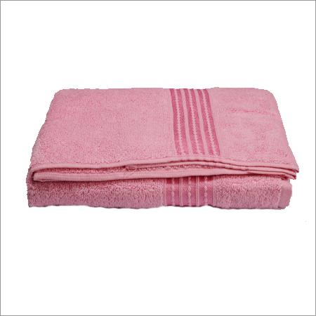 Flamingo Pink Bath Towe