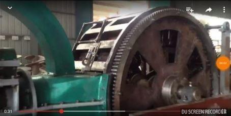 DOUBLE ROTARY BRICK MAKING MACHINE