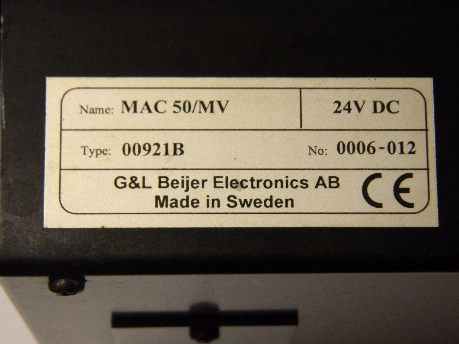 BEIJER MAC 50/MV
