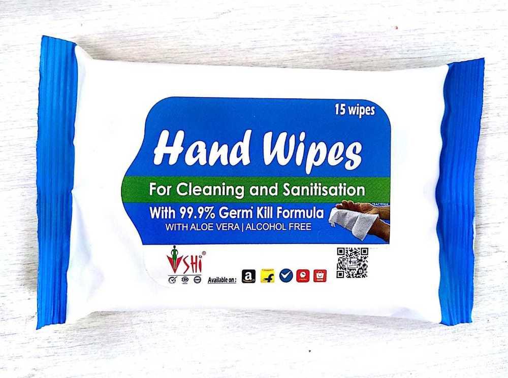 Biodegradable Hand Sanitizing Wipes