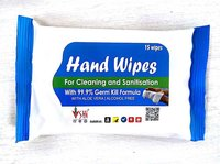 Biodegradable Hand Sanitizing Wipes
