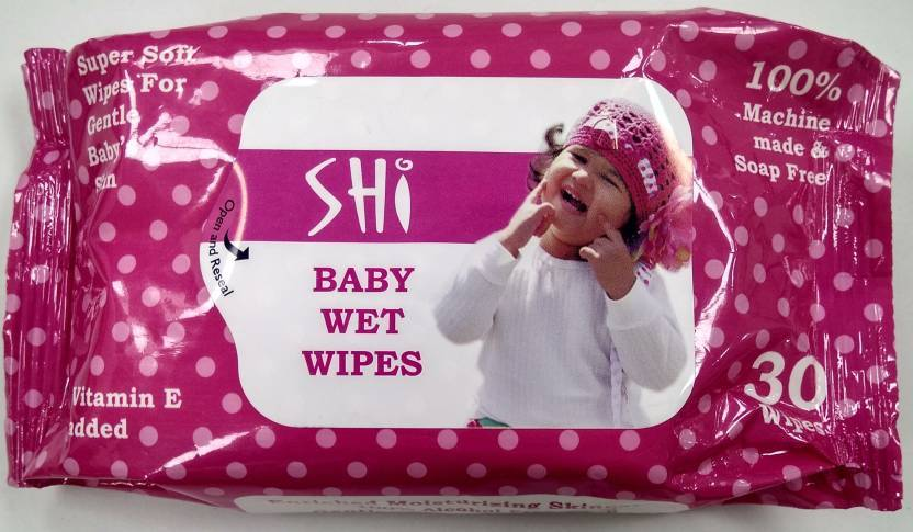 Baby Wet Wipes Pack Of 30 Wipes