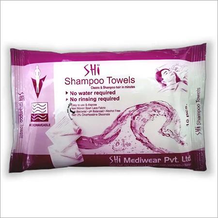 SHI Shampoo Towel- No Water & Rinsing Required