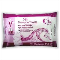 SHI Shampoo Towel- No Water & Rinsing Required