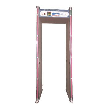 Multi Zone Walk Through Metal Detector