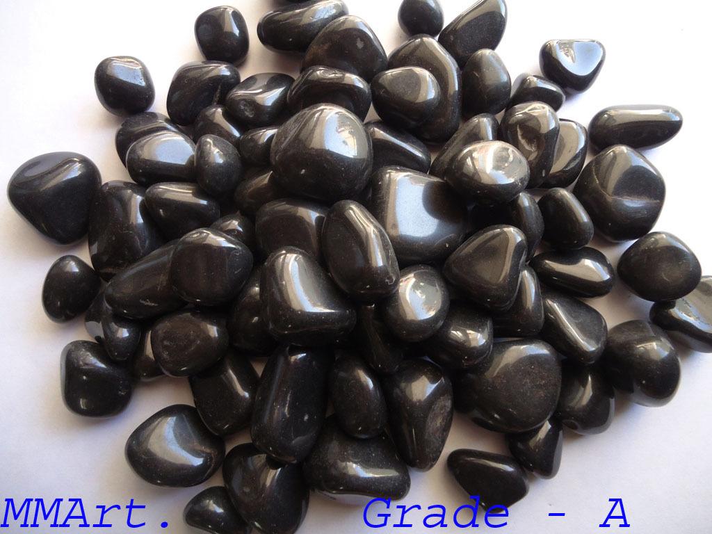 Decorative Black Pebble Stone