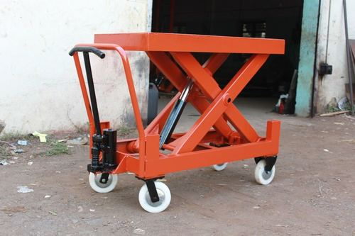 Hydraulic Manual Scissor Lift Table