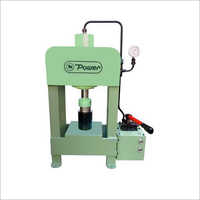 Hand Lever Operated Hydraulic Press