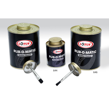 Rub-O-Matic Rubber Cleaner
