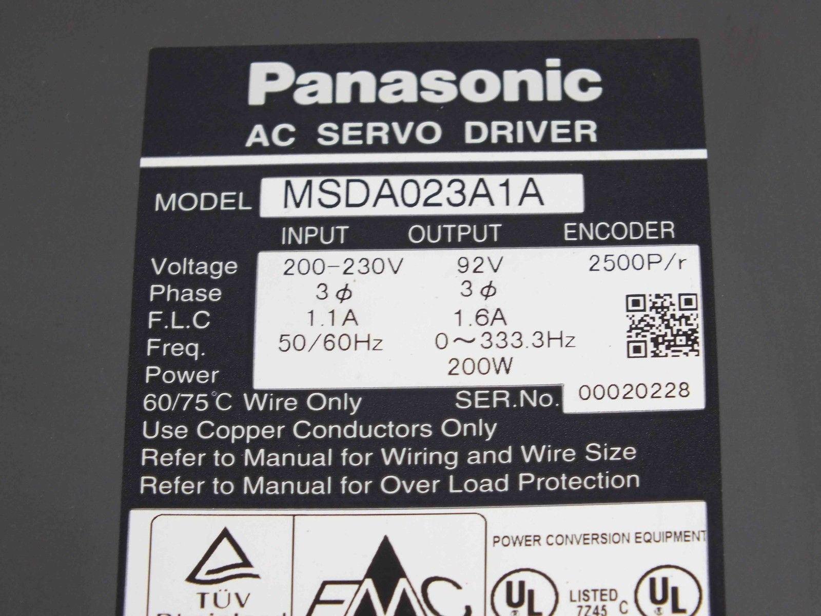 PANASONIC  MSDA023A1A
