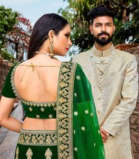 Embroidered Bridal Wear