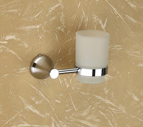 Brass Glass Tumbler Holder (Round)