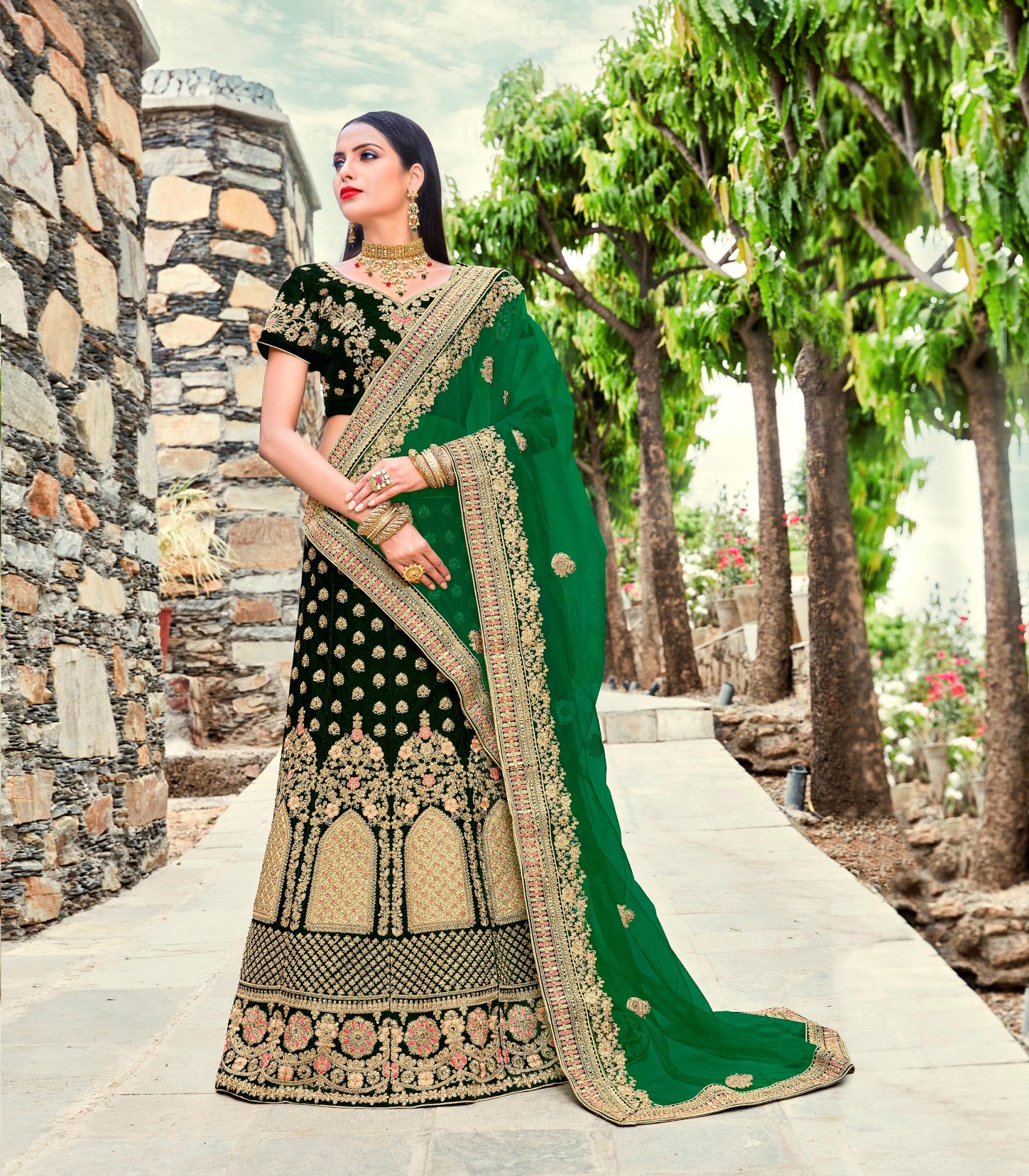 Designer Lengha Choli