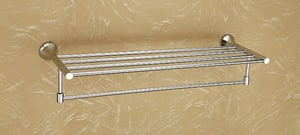 """Brass Towel Rack Without Hook 18"""""""