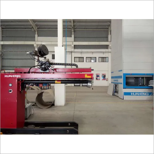 Longitudinal welding seam system