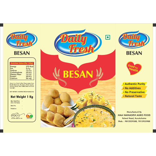 Besan Packing Pouch