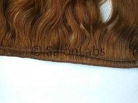 Hand Tied Curly Human hair