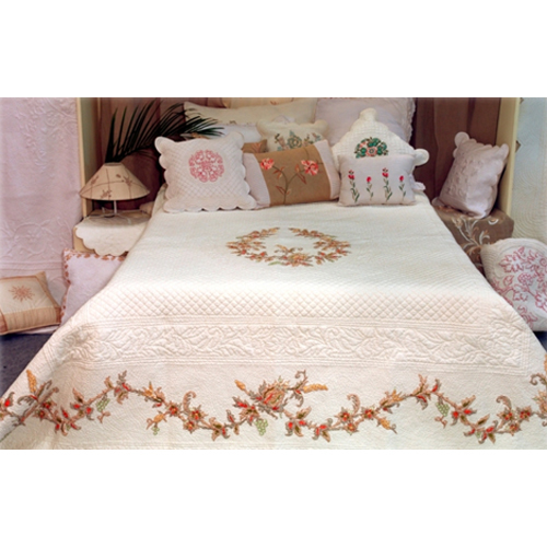 Flower Print Bedding Set