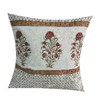 20x20 Flower Print Pillow