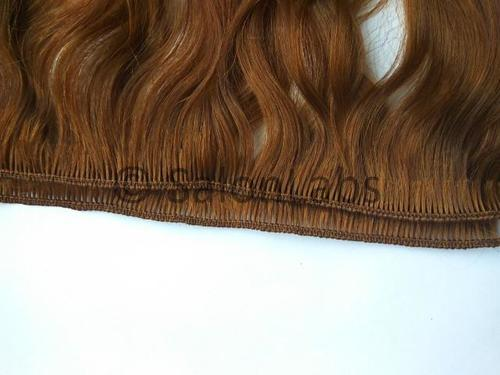 Hand Tied Weft Indian Remy hair