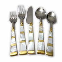 Checked Style Mop Serving Set