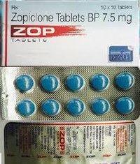 Zopiclone 7.5 Mg Tabs