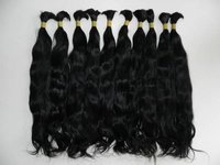 Unprocessed Bulk Hair Extensions