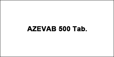 AZEVAB 500 Tab
