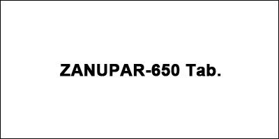ZANUPAR-650 Tab.