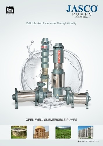 Open Well Submersible Pumps, Capacity Up to 31 liters per second,
