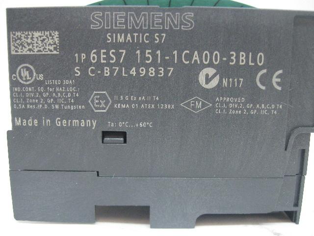 SIEMENS S7 6ES7 151-1CA00-3BL0