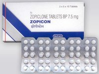 Zopiclone 7.5 Mg Tablets (INTAS)
