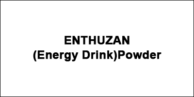 ENTHUZAN (Energy Drink)Powder