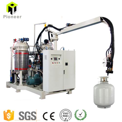 PU Polyurethane High Pressure Foam Moulding Machine for Custom Lpg Cylinder or Lpg case bottle