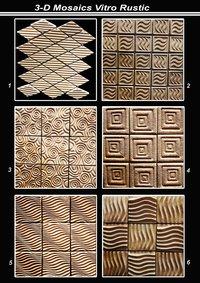 3D Vitro Rustic Mosaic