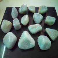 Light Green agate Pebbles stone