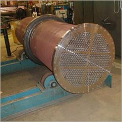 Six Pass Carbon Steel Heat Exchanger
