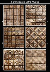 3D Mosaics Vitro Rustic
