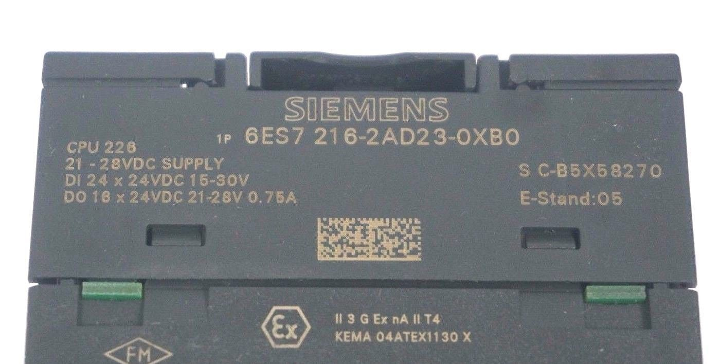 SIEMENS CPU 226 6ES7 216-2AD23-0XB0