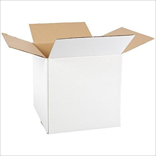 Corrugated White Packaging Box