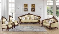 Wooden Royal Sofa Set