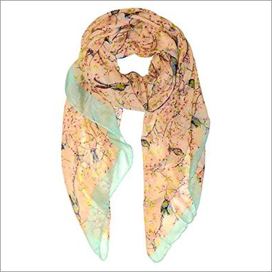 Spanish Printed Viscose Scarves