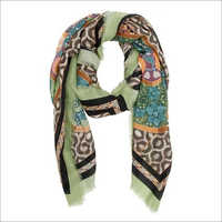 Pretty Printed Wool Scarves
